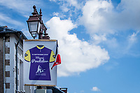 rolling through Poulidor country, this stage is dedicated to the late Raymond Poulidor<br /> <br /> Stage 12 from Chauvigny to Sarran (218km)<br /> <br /> 107th Tour de France 2020 (2.UWT)<br /> (the 'postponed edition' held in september)<br /> <br /> ©kramon