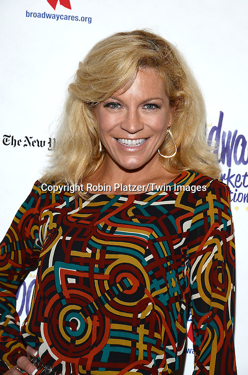 Felicia Finley attends the 28th Annual  Broadway Cares/ Equity Fights Aids Flea Market and Auction on September 21,2014 in Shubert Alley in New York City. <br /> <br /> photo by Robin Platzer/Twin Images<br />  <br /> phone number 212-935-0770