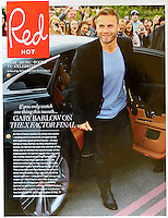 Red Magazine<br /> Gary Barlow by ROS<br /> 41037<br /> tearsheet