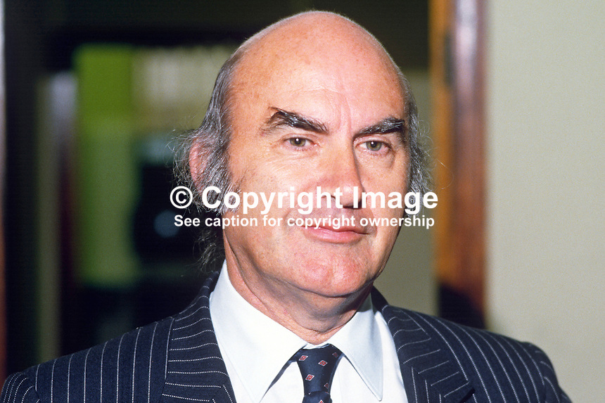 John F Daly, general manager, Ireland, International Computers Ltd, 19840085JFD.<br /> <br /> Copyright Image from Victor Patterson, 54 Dorchester Park, Belfast, UK, BT9 6RJ<br /> <br /> t1: +44 28 9066 1296<br /> t2: +44 28 9002 2446<br /> m: +44 7802 353836<br /> <br /> e1: victorpatterson@me.com<br /> e2: victorpatterson@gmail.com<br /> <br /> www.victorpatterson.com<br /> <br /> IMPORTANT: Please see my Terms and Conditions of Use at www.victorpatterson.com