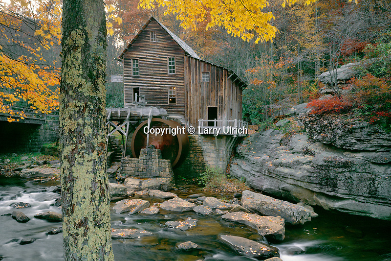Glade Creek Grist Mill<br />