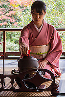 """Sa-do, chado or """"the way of tea"""" is more about ritual, ceramics, and patience than it is about tea itself.  Macha tea is the type of tea served at tea ceremony which centers on the preparation, serving, and drinking of matcha."""