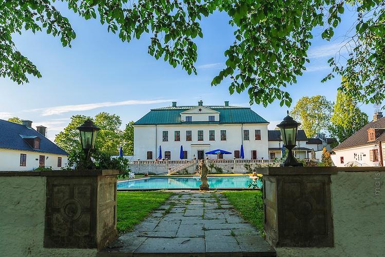 Häringe slott i Haninge Sörmland / Häringe Castle in Sörmland Sweden