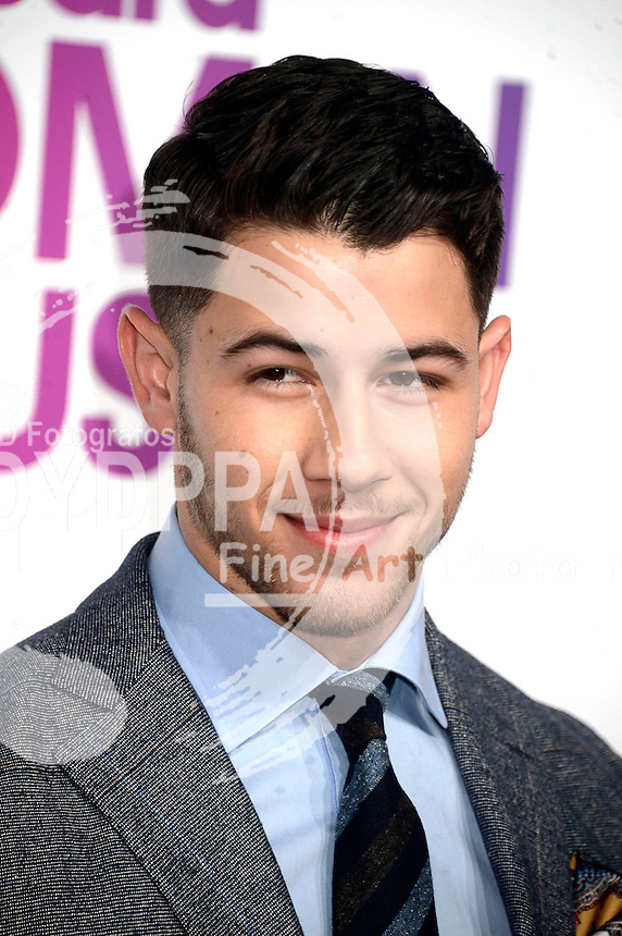 Nick Jonas attends Billboard Women In Music 2016 at Pier 36 on December 9, 2016 in New York City.