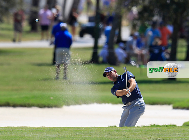 Gary Woodland (USA) during the 2nd round at the WGC Cadillac Championship, Blue Monster, Trump National Doral, Doral, Florida, USA<br /> Picture: Fran Caffrey / Golffile