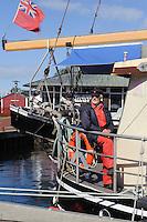 Hafen von Heiligenhafen, Schleswig-Holstein, Deutschland