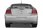 Straight rear view of a 2008 Dodge Charger Dub