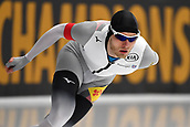 7th February 2019, Max Aicher Arena, Inzell, Germany;  World speed skating championships; Patrick BECKERT (GER),  5000m men