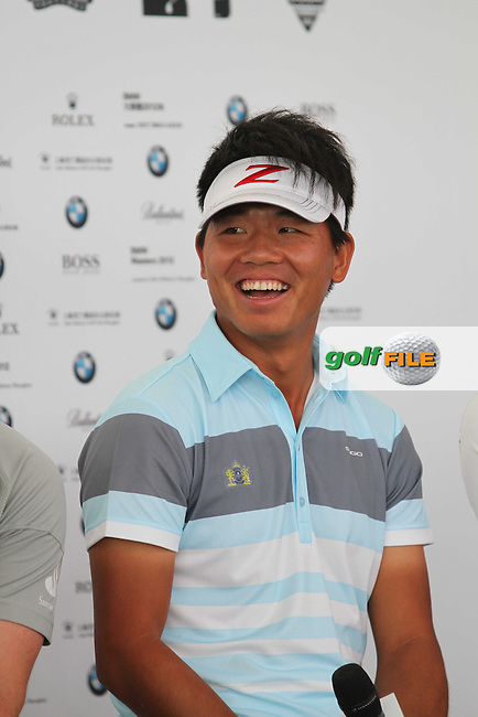 Wu AShun (CHN) at the Press Conference ahead of the BMW Masters 2012 at Lake Malaren Golf Club, Shanghai, China, Tuesday 23/10/12...(Photo Jenny Matthews/www.golffile.ie)
