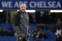 Arsenal Assistant Manager, Steve Bould, pre-match during Chelsea vs Arsenal, Caraboa Cup Football at Stamford Bridge on 10th January 2018