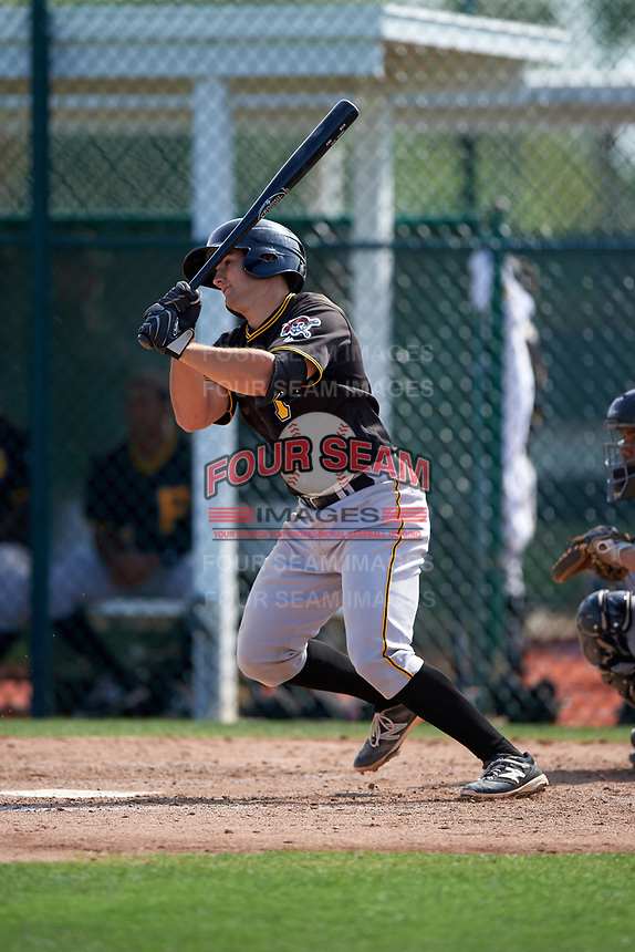 Pittsburgh Pirates Christian Kelley (46) during a minor league Spring Training intrasquad game on April 3, 2016 at Pirate City in Bradenton, Florida.  (Mike Janes/Four Seam Images)