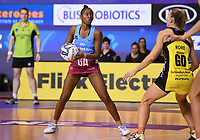 4th July 2020, Auckland, New Zealand;  Kalifa McCollin.<br /> Central Pulse versus Southern Steel. ANZ Premiership Netball. Auckland Netball Centre, Saturday 4 July 2020.