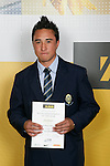 Boys Lawn Bowls winner Greg Ruaporo. ASB College Sport Young Sportperson of the Year Awards 2007 held at Eden Park on November 15th, 2007.