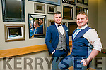 MC Gavin O'Leary,  and Joe Burkett, Creative Director  Strictly Come Dancing in INEC Killarney on the First of April 2016