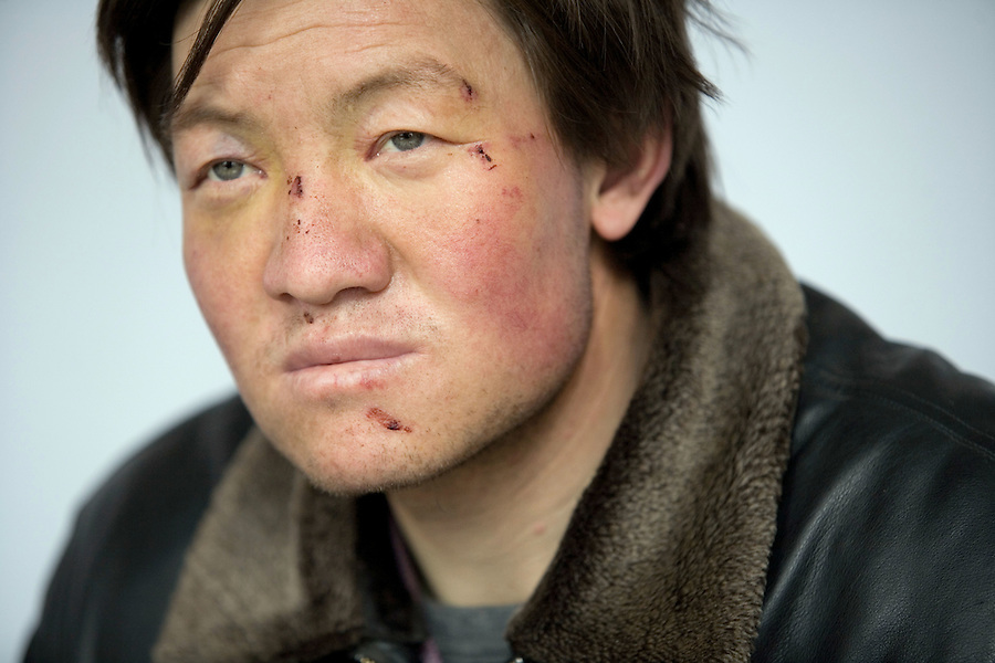 Sun Jun, who believes his fair complexion may indicate his ancestors were Romans soldiers who settled in the Hexi Corridor in Gansu province more than 2000 years ago.