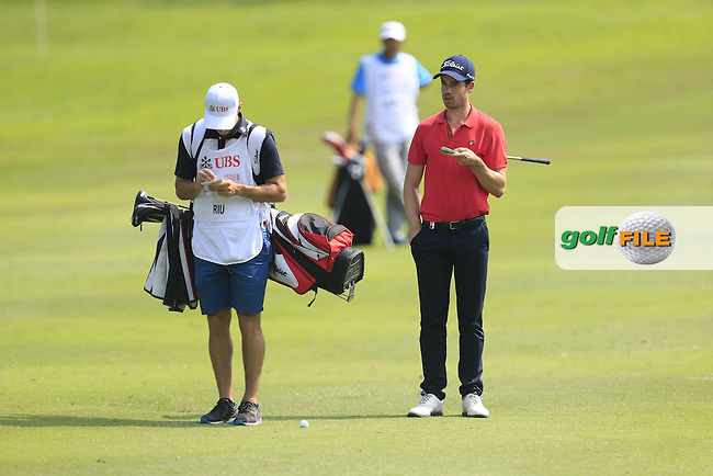 Victor RIU (FRA) on the 17th fairway during Round 2 of the 2015 UBS Hong Kong Open at the Hong Kong Golf Club in Hong Kong on Friday 23/10/15.<br /> Picture: Thos Caffrey | Golffile