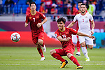 Nguyen Quang Hai of Vietnam in action during the AFC Asian Cup UAE 2019 Round of 16 match between Jordan (JOR) and Vietnam (VIE) at Al Maktoum Stadium on 20 January 2019 in Dubai, United Arab Emirates. Photo by Marcio Rodrigo Machado / Power Sport Images