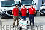 Cleaning Doctor interior team John Cronin, Donal O'Sullivan, Maurice O'Connor