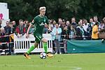 28.07.2017, Sportplatz, Schneverdingen, GER, FSP SV Werder Bremen (GER) vs WestHam United (ENG), <br /> <br /> im Bild<br /> <br /> #5 Julian Rieckmann (SV Werder Bremen U17)<br /> <br /> Foto &copy; nordphoto / Kokenge