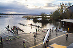 Rowing, Head of the Lake Regatta, November 5 2016, Conibear boathouse, Seattle, Washington State, organized by the Lake Washington Rowing Club and the University of Washington, Washington State, Pacific Northwest, USA,