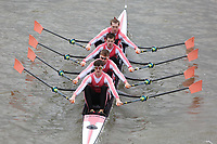 Crew: 61   Leander Club   Championship Quads<br /> <br /> Schools' Head of the River 2018<br /> <br /> To purchase this photo, or to see pricing information for Prints and Downloads, click the blue 'Add to Cart' button at the top-right of the page.