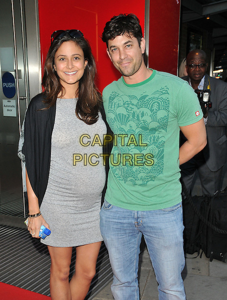 LONDON, ENGLAND - JULY 19: Nathalia Chubin &amp; Adam Garcia attend the &quot;The Car Man&quot; VIP night, Sadler's Wells Theatre, Rosebery Avenue, on Sunday July 19, 2015 in London, England, UK.<br /> CAP/CAN<br /> &copy;Can Nguyen/Capital Pictures