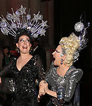 "Sophie Von Haselberg and Bette Midler attends Bette Midler's New York Restoration Project hosts the 22nd Annual Hulaween Event ""Hulaween in the Cosmos"" at St. John the Divine on October 29, 2018 in New York City."