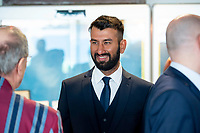 Picture By Allan McKenzie/SWpix.com - 06/04/18 - Cricket - Yorkshrie County Cricket Club Opening Season Lunch 2018 - Emerald Headingley Stadium, Leeds, England - Cheteshwar Pujara at the opening season lunch.