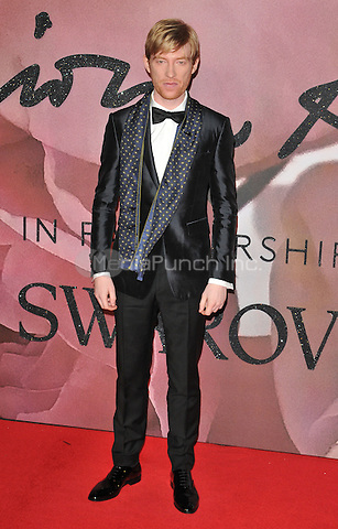 Dohmnall Gleeson at the Fashion Awards 2016, Royal Albert Hall, Kensington Gore, London, England, UK, on Monday 05 December 2016. <br /> CAP/CAN<br /> &copy;CAN/Capital Pictures /MediaPunch ***NORTH AND SOUTH AMERICAS ONLY***