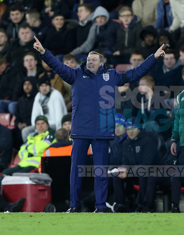 England's Aidy Boothroyd in action during the Under 21 International Friendly match at the St Mary's Stadium, Southampton. Picture date November 10th, 2016 Pic David Klein/Sportimage