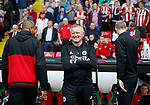 Chris Wilder manager of Sheffield Utd during the Championship match at Bramall Lane, Sheffield. Picture date 26th August 2017. Picture credit should read: Simon Bellis/Sportimage
