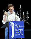 Ethan Slater during the 74th Annual Theatre World Awards at Circle in the Square on June 4, 2018 in New York City.