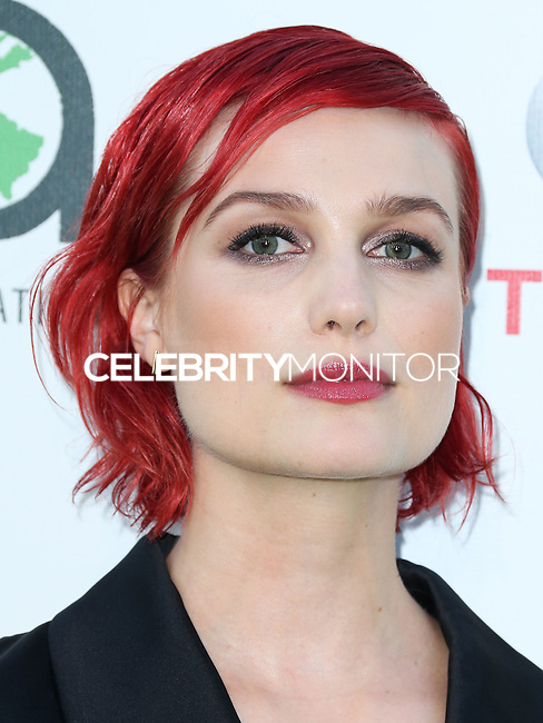 BURBANK, CA, USA - OCTOBER 18: Alison Sudol, A Fine Frenzy arrives at the 2014 Environmental Media Awards held at Warner Bros. Studios on October 18, 2014 in Burbank, California, United States. (Photo by Xavier Collin/Celebrity Monitor)