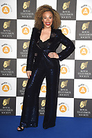 LONDON, UK. March 19, 2019: Ria Hebden arriving for the Royal Television Society Awards 2019 at the Grosvenor House Hotel, London.<br /> Picture: Steve Vas/Featureflash