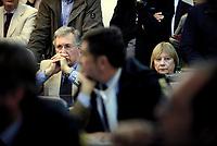 Roma, 24 Ottobre 2018<br /> Giovanni cucchi e Rita Calore, genitori di Stefano.<br /> Processo Cucchi Bis contro 5 Carabinieri accusati della morte di Stefano Cucchi