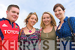 3017-3020.---------.And there Off.-------------.L-R Vinny Browne,Rachel Walsh,Sharon Hayes and Ciara O Regan all from Dingle enjoying the sunshine at the Dingle races last Saturday afternoon.