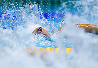 01 AUG 2012 - LONDON, GBR - Jessica Hardy (USA) of the USA races in her Women's 100m Freestyle heat during the morning session of the London 2012 Olympic Games Swimming at the Aquatic Centre in the Olympic Park, in Stratford, London, Great Britain .(PHOTO (C) 2012 NIGEL FARROW)