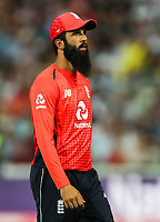 England's Moeen Ali<br /> <br /> Photographer Andrew Kearns/CameraSport<br /> <br /> Only IT20 - Vitality IT20 Series - England v Australia - Wednesday 27th June 2018 - Edgbaston - Birmingham<br /> <br /> World Copyright &copy; 2018 CameraSport. All rights reserved. 43 Linden Ave. Countesthorpe. Leicester. England. LE8 5PG - Tel: +44 (0) 116 277 4147 - admin@camerasport.com - www.camerasport.com