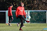 Jetro Willems (Eintracht Frankfurt) - 14.02.2018: Eintracht Frankfurt Training, Commerzbank Arena