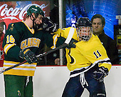 111028-PARTIAL-Clarkson University Golden Knights at Bentley University Falcons (m)