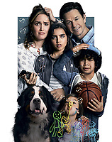Promotional art with Gustavo Quiroz, Mark Wahlberg, Rose Byrne & Octavia Spencer.<br /> Instant Family (2018) <br /> *Filmstill - Editorial Use Only*<br /> CAP/RFS<br /> Image supplied by Capital Pictures