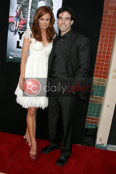 I14414CHW<br /> 61st PrimeTime Emmy Awards Nominations Announcement By The Academy Of Television Arts & Sciences   <br /> Leonard H. Goldenson Theatre, North Hollywood, CA<br /> 07/16/09                       <br /> RACHEL BOSTON AND AARON METCHIK  <br /> Photo: Clinton H. Wallace-Photomundo-Globe Photos Inc ©2009