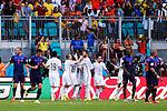 Spain team group (ESP), JUNE 13, 2014 - Football / Soccer : FIFA World Cup Brazil 2014 Group B match between Spain 1-5 Netherlands at Arena Fonte Nova in Salvador, Brazil. (Photo by D.Nakashima/AFLO)