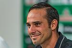 07.09.2017, Weserstadion, Bremen, GER, 1.FBL, Pressekonferenz Werder Bremen, <br /> <br /> im Bild<br /> Alexander Nouri (Trainer SV Werder Bremen), <br /> <br /> Foto &copy; nordphoto / Ewert