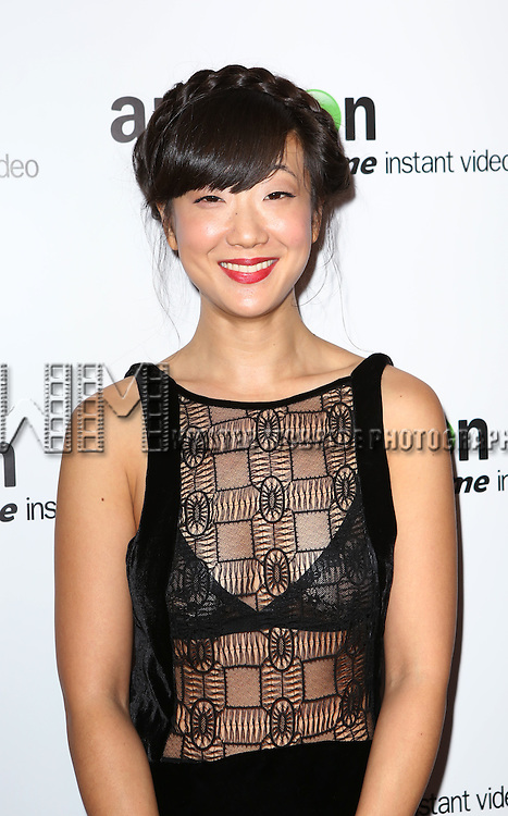 Jennifer Kim attending the Amazon Red Carpet Premiere for 'Mozart in the Jungle' at Alice Tully Hall on December 2, 2014 in New York City.