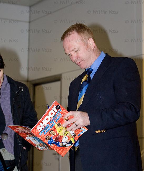 Alex McLeish, Scotland manager