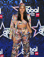 Awa Santesson-Sey at the Global Awards 2019, Hammersmith Apollo (Eventim Apollo), Queen Caroline Street, London, England, UK, on Thursday 07th March 2019.<br /> CAP/CAN<br /> &copy;CAN/Capital Pictures