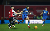 Bolton Wanderers' Gary O'Neil surges forward<br /> <br /> Photographer Rob Newell/CameraSport<br /> <br /> The EFL Sky Bet Championship - Brentford v Bolton Wanderers - Saturday 22nd December 2018 - Griffin Park - Brentford<br /> <br /> World Copyright © 2018 CameraSport. All rights reserved. 43 Linden Ave. Countesthorpe. Leicester. England. LE8 5PG - Tel: +44 (0) 116 277 4147 - admin@camerasport.com - www.camerasport.com