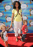 Garcelle Beauvais-Nilon & her twins at the Make-a-Wish Foundation Funday at The Santa Monica Pier in Santa Monica, California on March 14,2010                                                                   Copyright 2010  DVS / RockinExposures