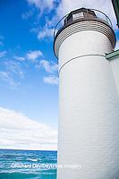 64795-00915 Point Betsie Lighthouse on Lake Michigan, Benzie County, Frankfort, MI